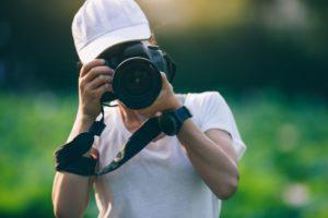 photographer taking photo UWZHDJ