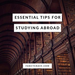 Essential Tips for Studying Abroad