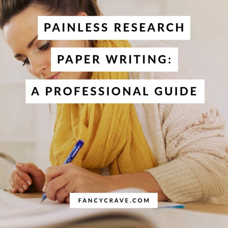 Painless Research Paper Writing