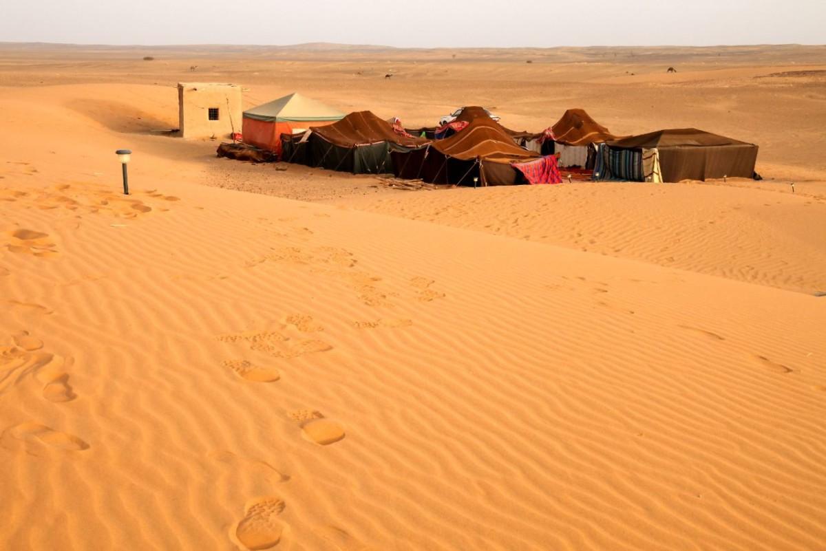 bedouin desert camp PUMN