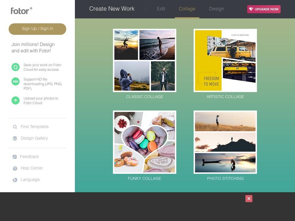 fotor screenshot