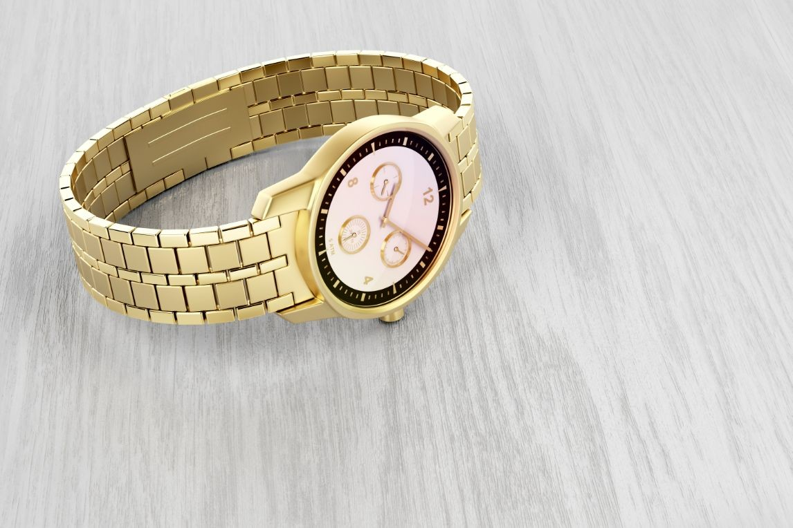 luxury gold watch PXWPQ