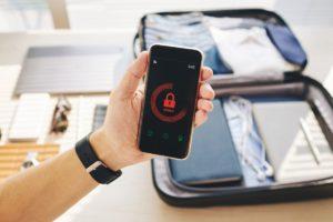 password protected smartphone FAMPYE