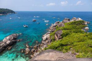 similan island beach near phuket in thailand QHBKM
