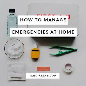 Emergencies at home