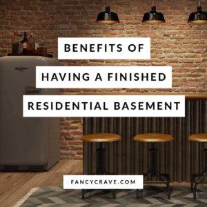 Residential basement