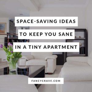 Space Saving Tips