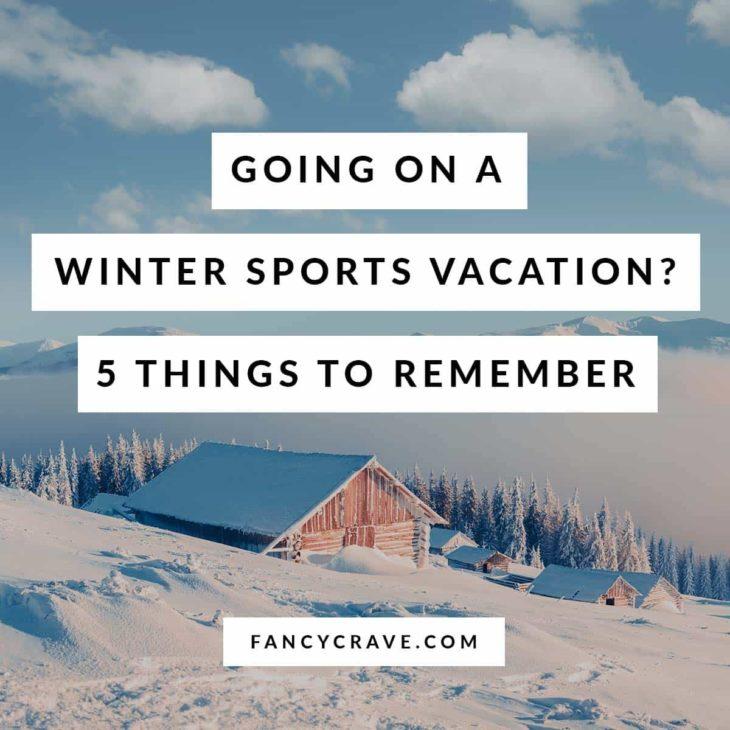 Winter Sports Vacation