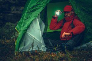 camper with flashlight CMBDKR