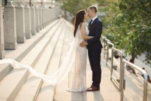 wedding in a city ABEWUX