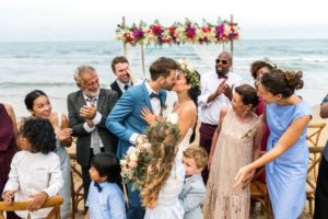 young caucasian couple s wedding day FLHRN