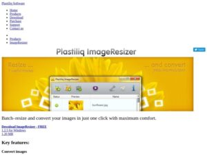 Plastiliq Image Resizer
