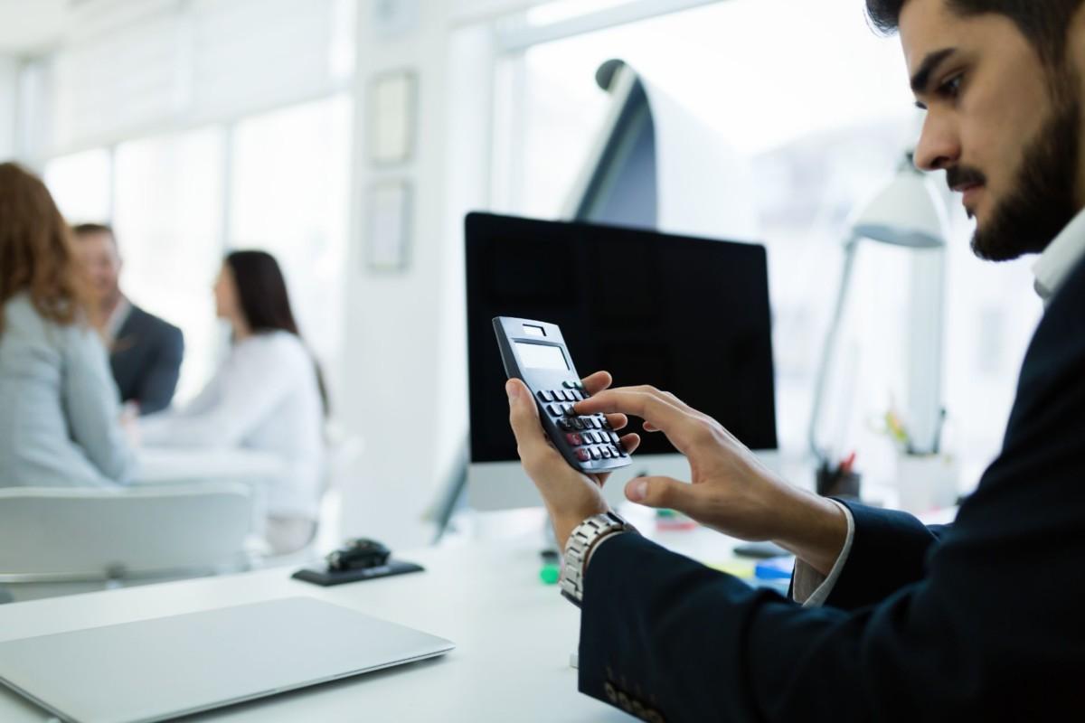 accountant checking statistics of company ZJRGA