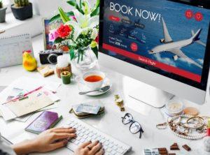 air ticket flight booking concept PKNMDGC