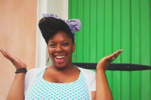 bright fashion vintage smile woman happy braids nola black woman african american real women t vVyb