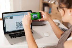 paying bills by scanning qr code is faster and STECWFK