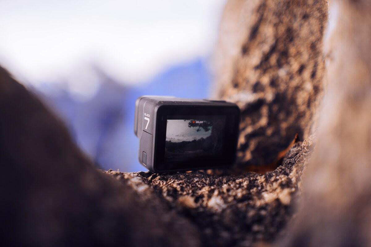 black-action-camera