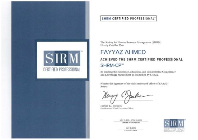 SHRM-Certification