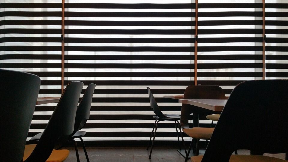 eating restaurant background silhouette interior