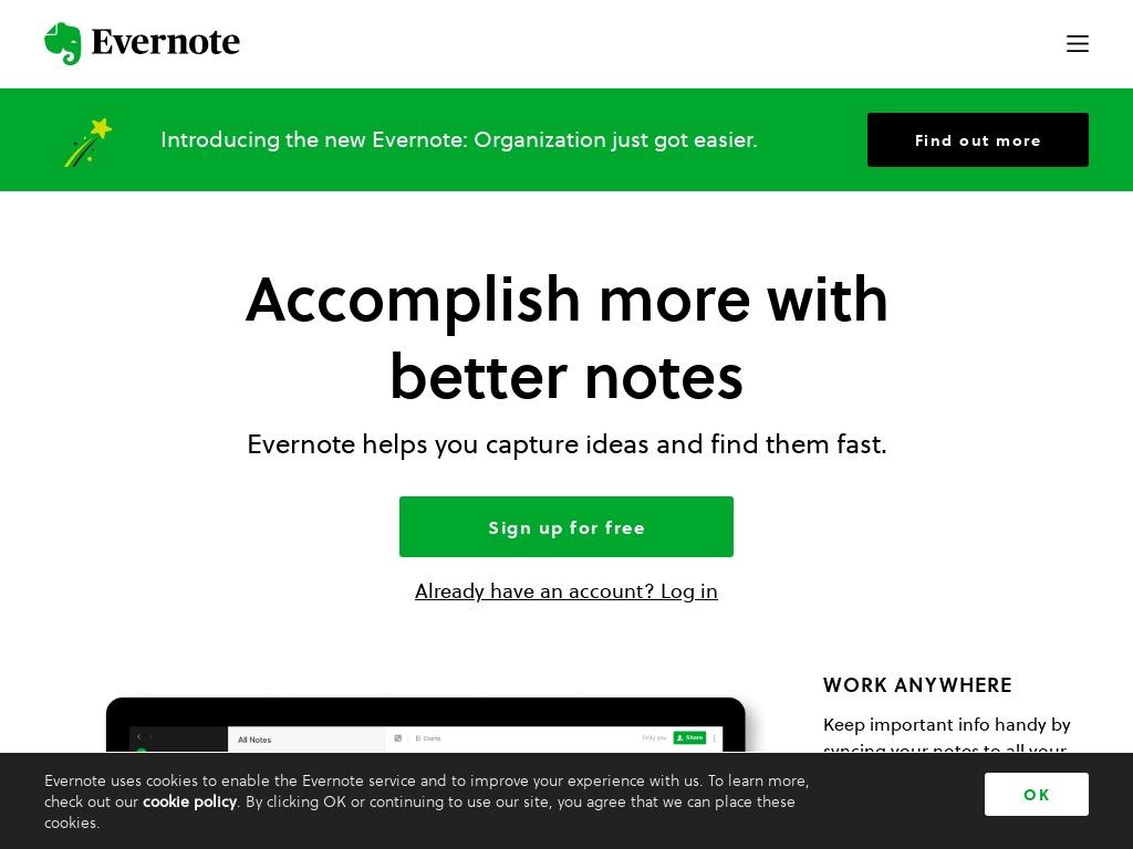 evernote com