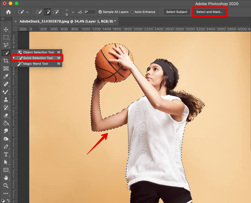 how to add a background to a photo select background
