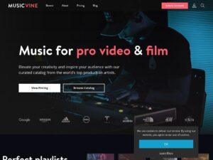 musicvine com