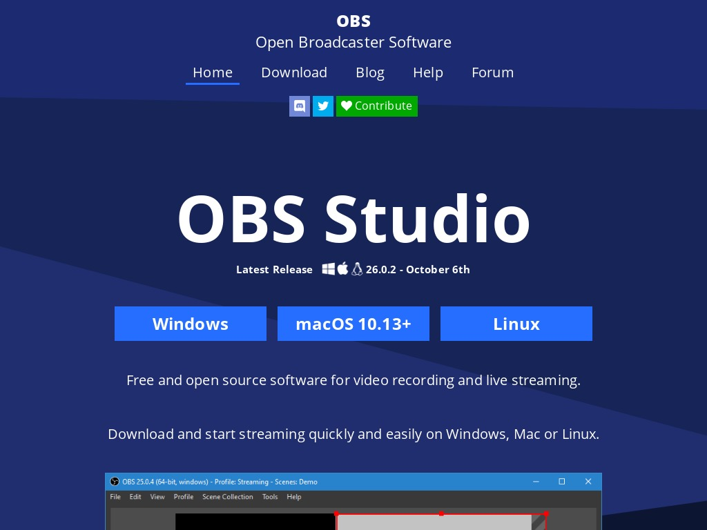 obsproject com