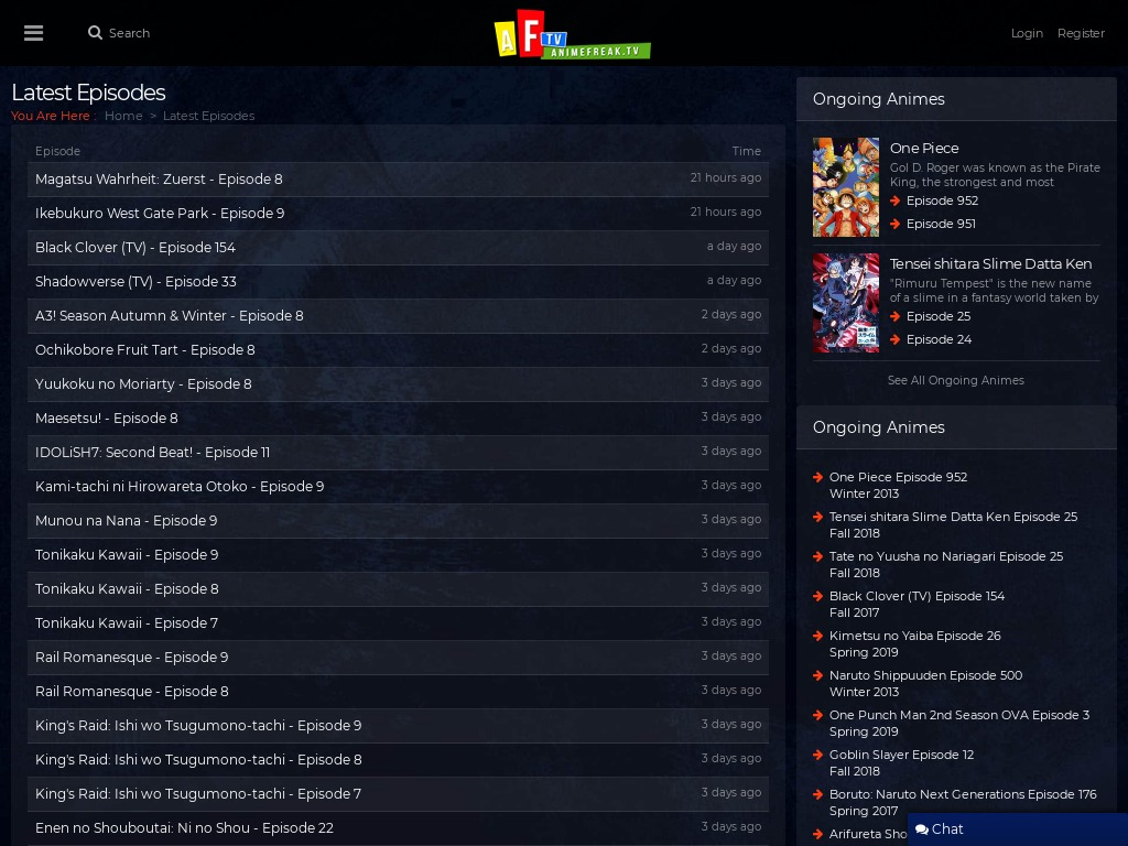animefreak tv xdesktop db