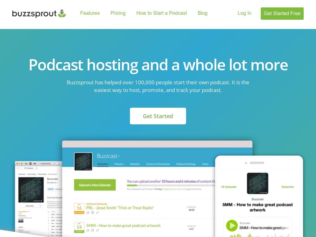 buzzsprout com xdesktop cabae
