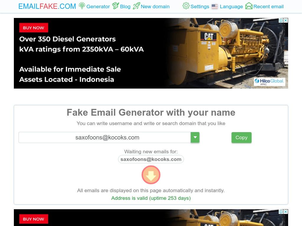 emailfake com xdesktop ea