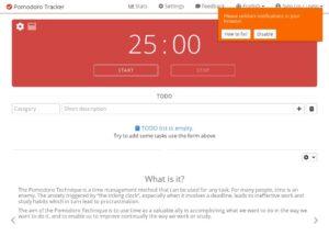 pomodoro tracker com xdesktop b