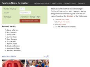 random name generator info xdesktop a