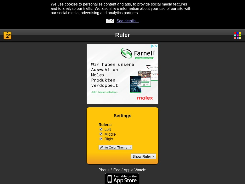 ruler iphonemarks com xdesktop ca