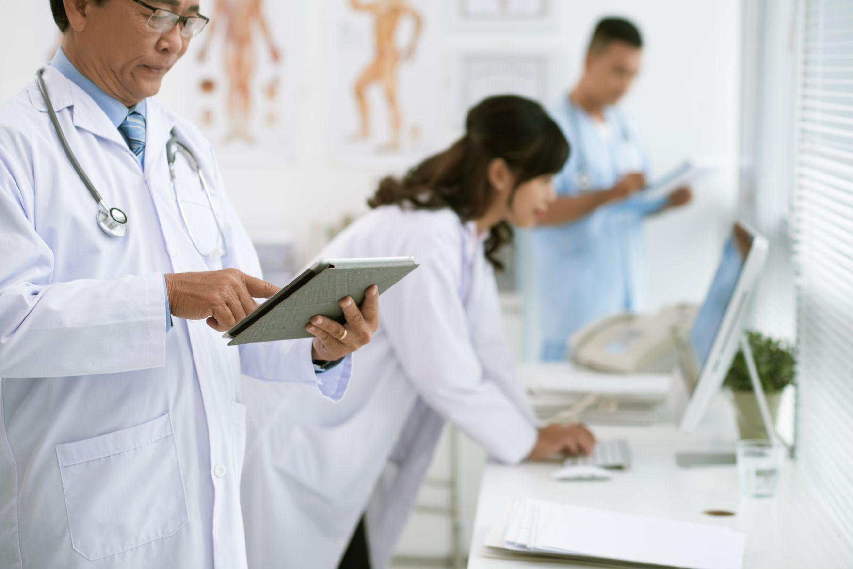technology in medicine concept BBXHHVZ