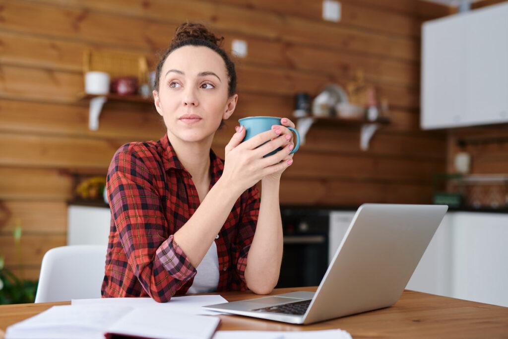 freelancer at home