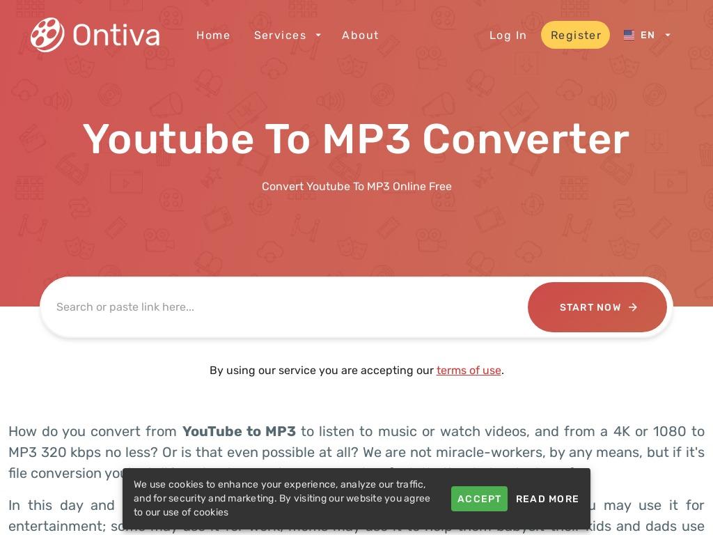 ontiva youtube to mp converter