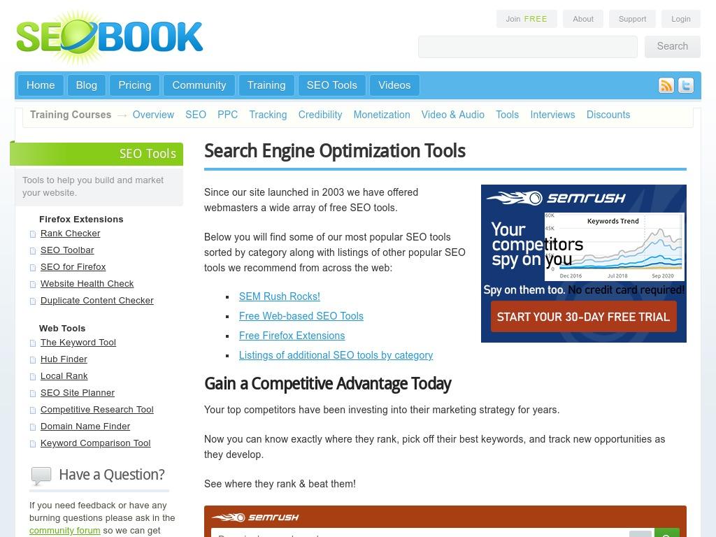 tools seobook com
