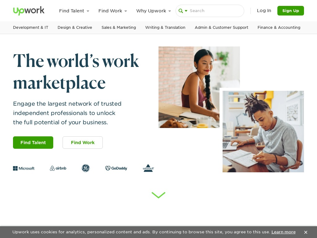 upwork com
