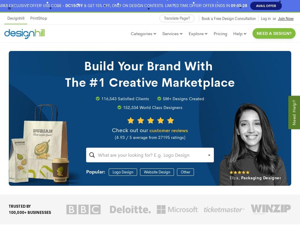 designhill com