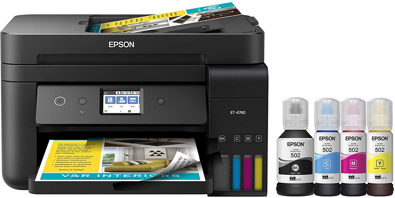epson ecotank all in one inkjet printer
