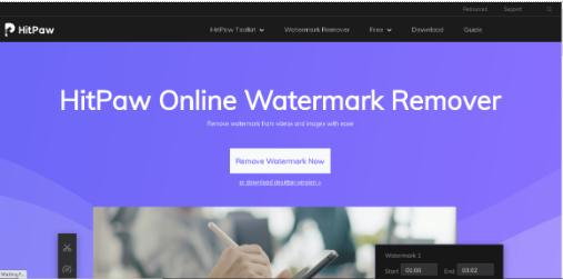 tiktok remove watermark online – hitpaw online watermark remover