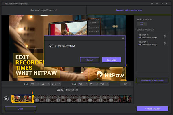 remove TikTok watermark from video – watermark removed
