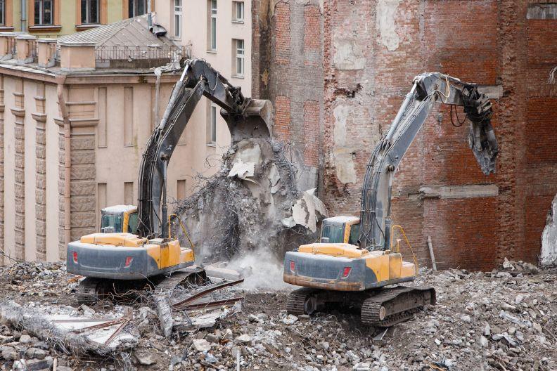 Demolishing a Building How It Works
